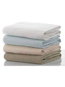 Belledrom single  cotton waffle blankets